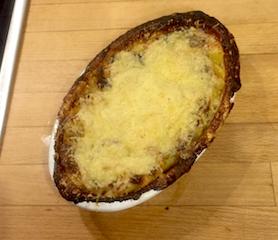 Kartoffel Gratin mit Bergkäse